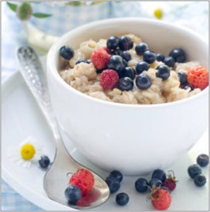 Oats and health berries